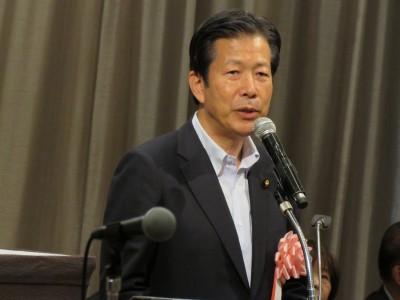 公明党代表・山口那津男参議院議員(定期大会来賓挨拶