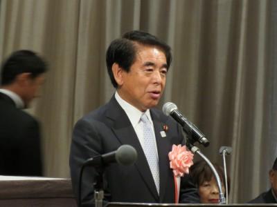 自民党東京都連会長・下村博文衆議院議員(定期大会来賓挨拶)