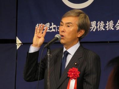 経済再生大臣・石原伸晃衆議院議員(大会懇親会・来賓挨拶)