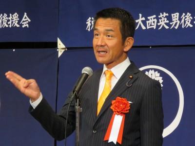 小田原潔衆議院議員(大会懇親会・来賓挨拶)