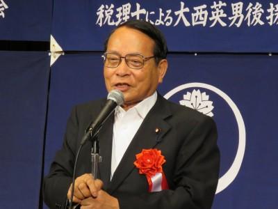 平沢勝栄衆議院議員(大会懇親会・来賓挨拶)