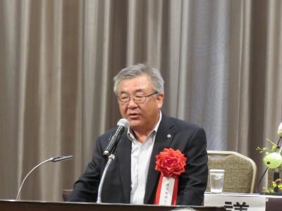 東京税理士会・西村新会長(東京税理士会会長挨拶)