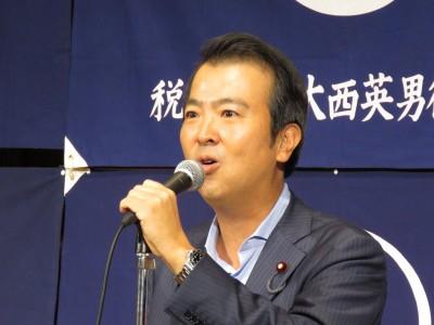 石原宏高衆議院議員(大会懇親会・来賓挨拶)