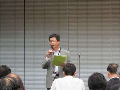 東京税理士会 会長代理・平井専務理事挨拶