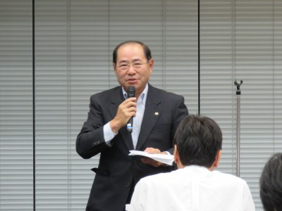 日本税政連 小島会長挨拶