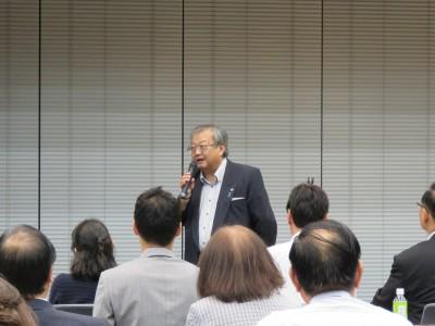 関東信越税政連 会長代理・渡邉幹事長挨拶