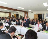開会挨拶;東京税政連 大石副会長
