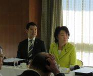 出席議員;辻清人衆議院議員、山田美樹衆議院議員