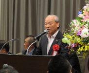 千葉県税政連・富澤康人会長(定期大会来賓挨拶)