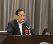 東京地方税政連・瀧浪貫治会長(定期大会来賓挨拶)