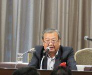 関東信越税政連・会長代理・渡邉輝男幹事長(定期大会来賓挨拶)