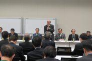 東税政報告・「連盟規約PT」報告について(鳩岡副会長)