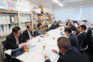 12月12日第5回常任幹事会(東京税理士会館・別館)
