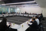 12月12日第3回幹事会(東京税理士会館)