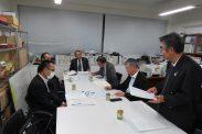 12月15日第1回後援会対策委員会(東京税理士会館別館)
