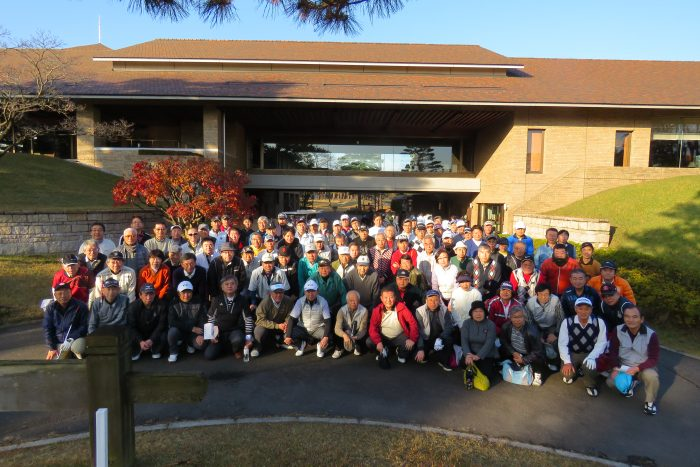 103名が参加 50周年記念ゴルフ大会